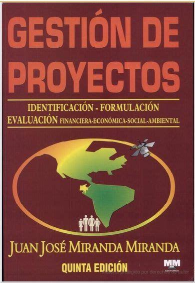 libro le c des autres 97 descarga libro gesti 243 n de proyectos identificaci 243 n formulaci 243 n evaluaci 243 n evaluaci 243 n