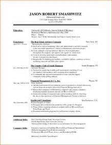 Microsoft Word Resume Template 2007 by Resume Templates For Word Free Resume Format Pdf
