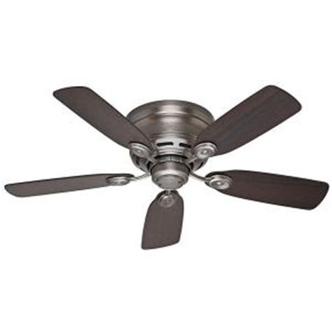 Iv Ceilings by Low Profile Iv 42 In Indoor Antique Pewter Ceiling Fan 51060 The Home Depot