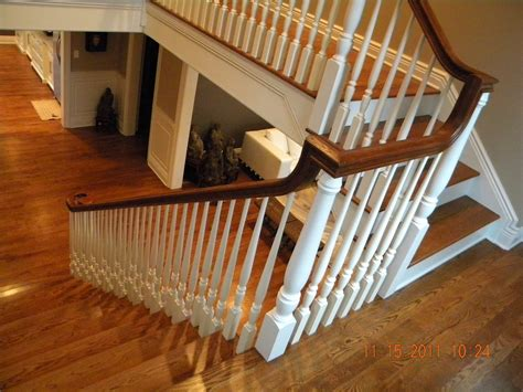 wooden stair banisters wood banisters and railings neaucomic com