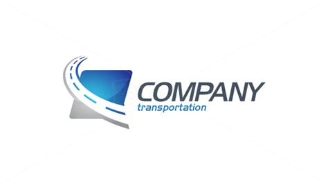 20 Catchy Transportation Logo Designs Themescompany Transport Logo Templates