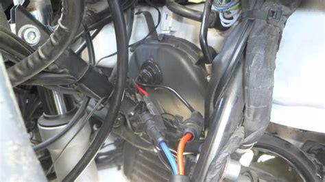 install hid headlights   bmw  rt youtube