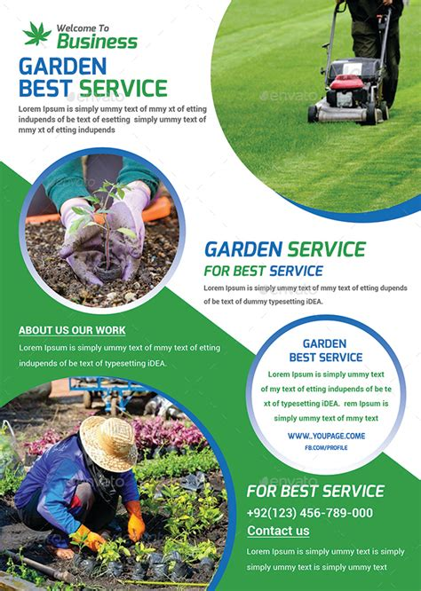 Garden Services by Garden Services Flyer Template By Afjamaal Graphicriver