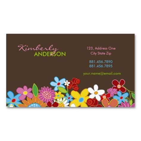 Whimsical Business Card Templates by 17 Best Images About Gardening Business Cards On
