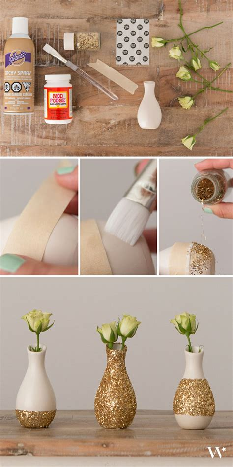 Make Flower Vase Home by 10 Chic Diy Flower Vases You Can Actually Make