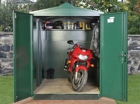 Motorbike Metal Shed by Motorcycle Storage Shed 9ft X 5ft 2 Quot Motorbike Garage