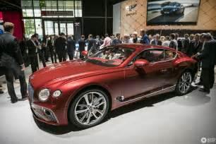 Bentley Log Iaa 2017 Bentley Continental Gt