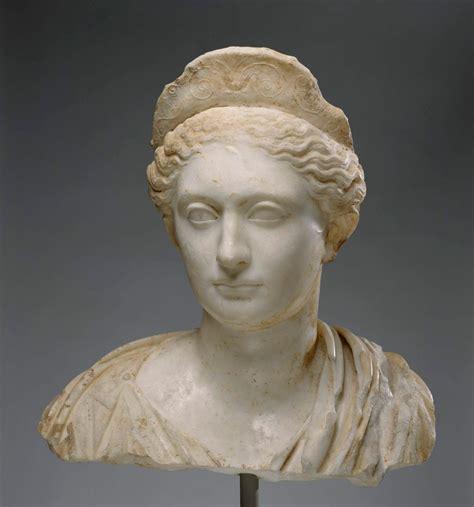 ancient roman women sculptures spencer alley bronze marble