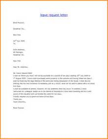 doc 750562 sle leave request letter of leave 92