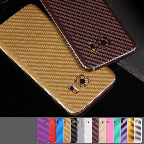 Sticker Carbon Transparan Samsung J710 new 3d carbon fiber back sticker cover wrap skin for samsung galaxy s7