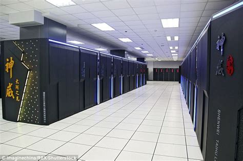 us to challenge china for worlds fastest supercomputer china s sunway taihulight supercomputer simulates cosmos