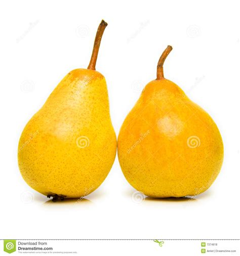 12 best images about pear ripe yellow pears royalty free stock photos image 7374618