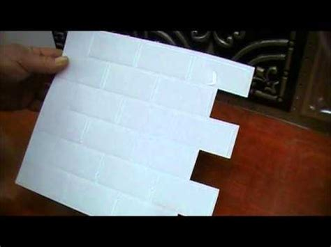 Unique Kitchen Backsplash sm1020 subway white smart tile youtube