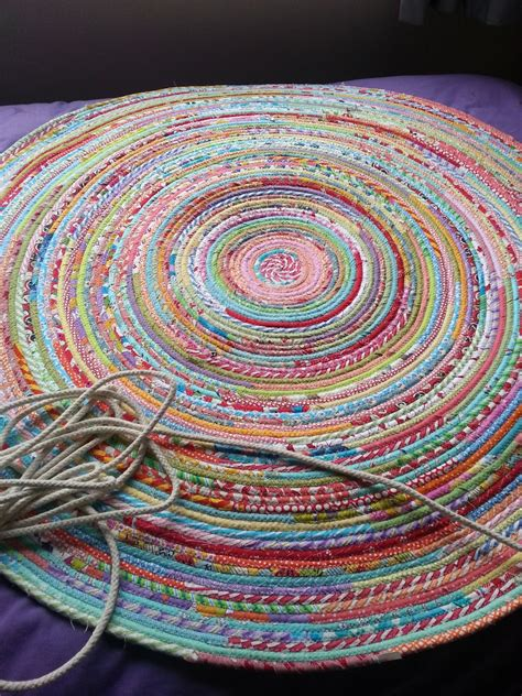 How To Sew Rugs Together Ric Rac How To Sew A Fabric Rug Tutorial