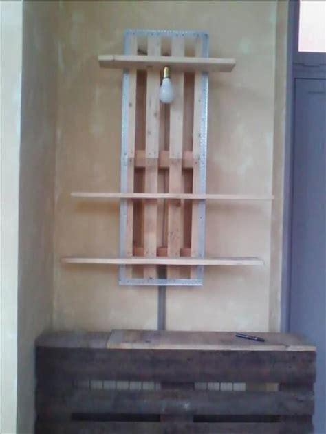 attractive Diy Bathroom Wall Decor #5: pallet-wall-shelf-with-pendant-lamp.jpg