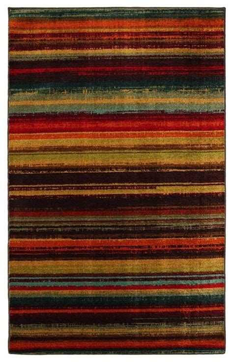 multi colored striped area rugs solid striped boho stripe 8 x10 rectangle multi color area rug contemporary area rugs by