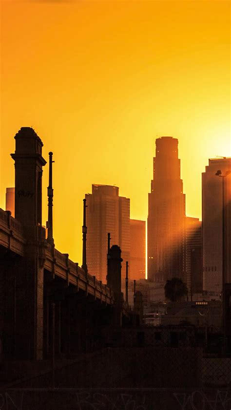 wallpaper iphone 5 los angeles los angeles city sunset wallpaper for iphone x 8 7 6