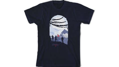 T Shirt Destiny 06 image gallery nepal shirts