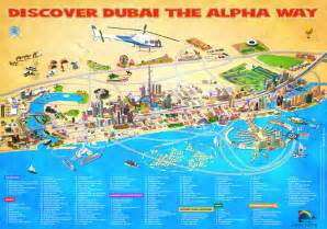 tourist attractions map dubai map tourist attractions city guide