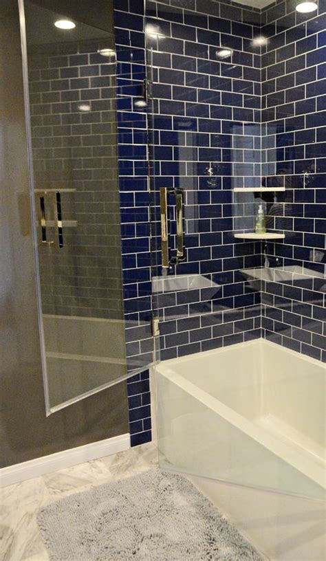 navy bathroom tiles image result for navy tile bathroom lake house bathrooms
