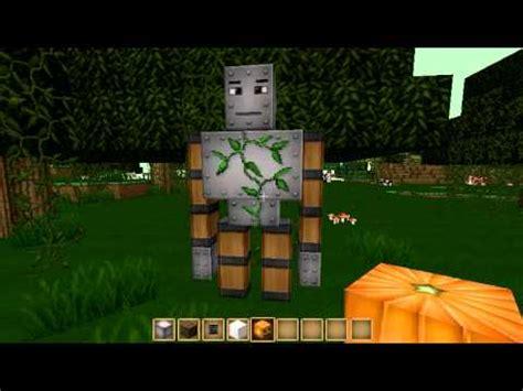 invocar nuevos monstruos en minecraft(golem, wither y