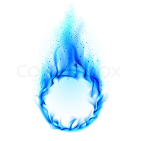blue ring of fire | stock photo | colourbox