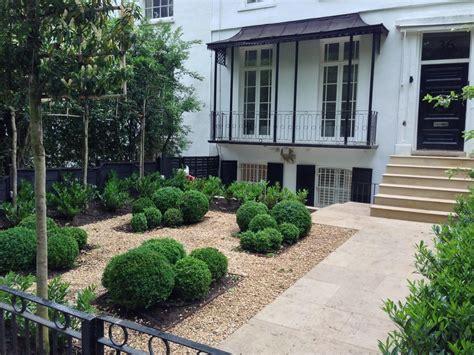 formal front garden cercis 100 feedback landscape gardener in stoke newington
