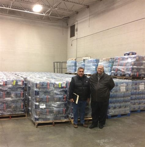 Food Pantry Jackson Mi by Saginaw Area Organizations Donate 900 Cases Of Water