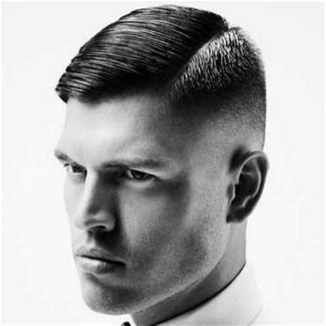 mens hair no part how to achieve a side part pompadour the idle man
