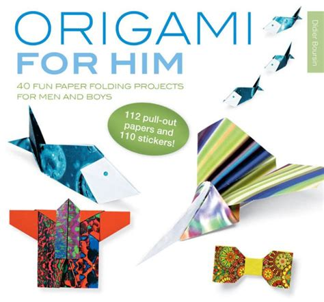 origami for boys origami for him 40 paper folding projects for and