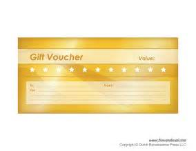 templates for free printable gift voucher templates blank gift vouchers