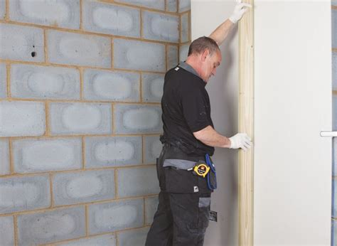 dry lining bathroom walls how to dry line a wall ideas advice diy at b q