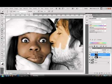 imagen blanco y negro en illustrator photoshop colorear fotos en blanco y negro youtube