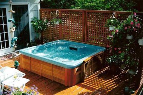 outdoor jacuzzi hot tubs ideas home interior exterior outdoor privacy screens for hot tubs ideas home interior