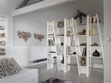 librerie divisorie soggiorno mobili divisori per lo spazio living pareti attrezzate