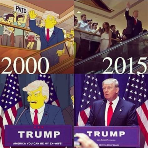 Oval Office Over The Years how the simpsons cartoon predicted trump s victory 16