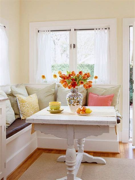 How To Build A Bay Window Seat - 40 cute and cozy breakfast nook d 233 cor ideas digsdigs