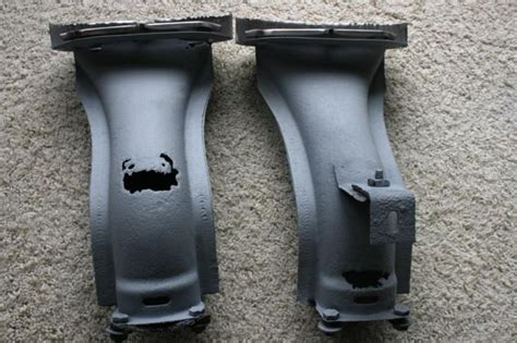 purchase  cadillac original rear bumper exhaust risers  stainless motorcycle  portage