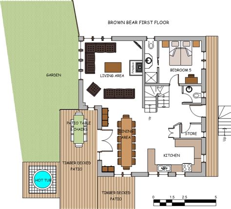 brown floor plans brown lodge winter luxury chalet with tub reach4thealps