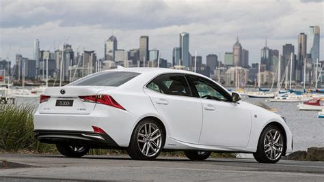 lexus white 2016 lexus is300h 2016 review snapshot carsguide