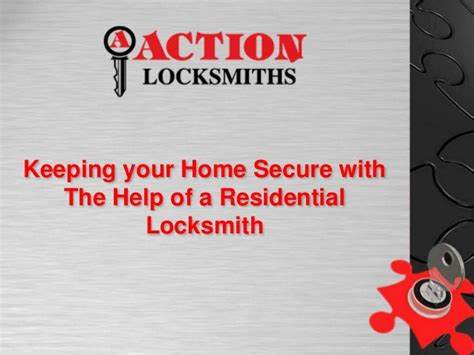 keeping your home secure with the help of a residential