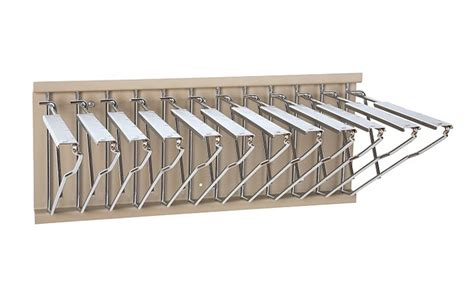 blueprint wall storage rack pivoting hanging rack for