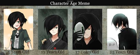 Meme Age - character age meme related keywords character age meme