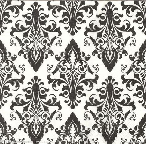 black and white vintage pattern wallpaper 复古花纹壁纸设计图 背景底纹 底纹边框 设计图库 昵图网nipic com