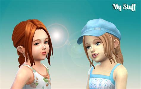simplicity hair cc sims 4 mystufforigin simplicity hair for toddlers sims 4 hairs