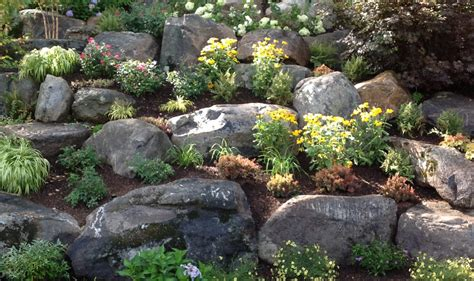 photos of rock gardens rock gardens cording landscape design