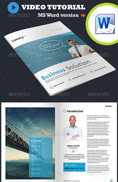 indesign brochure templates 30 awesome indesign brochure templates