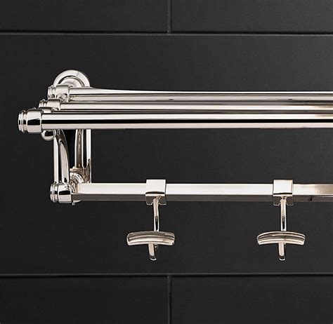train rack bathroom restoration hardware lugarno train rack i like that