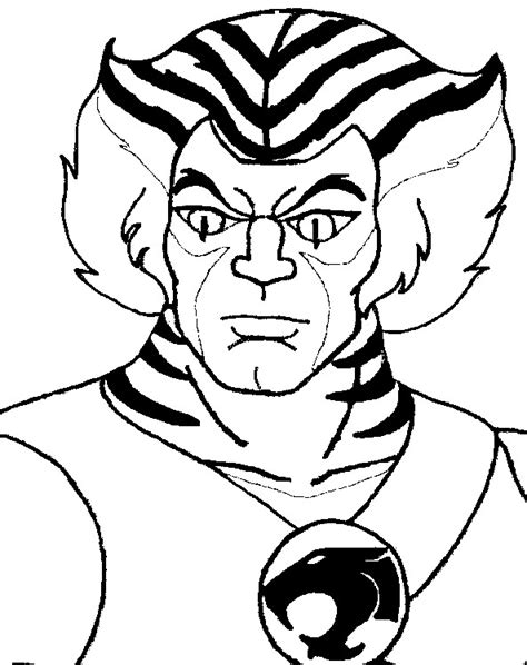 thundercats coloring pages kleurplaat thundercats tygra 4