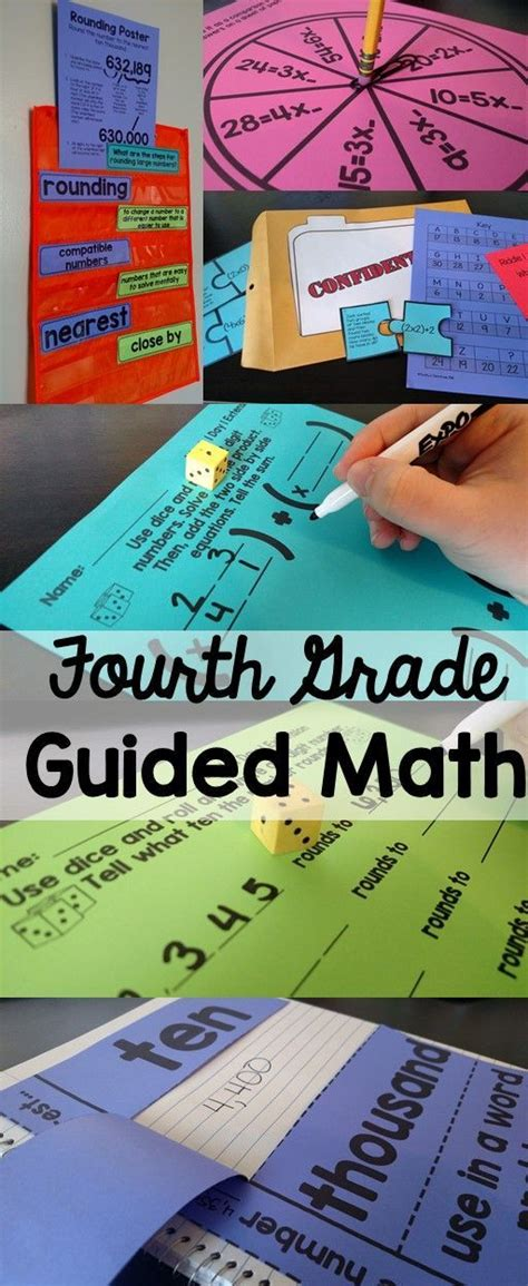 4th Grade Guided Math Tpt Math Lessons Math Lessons
